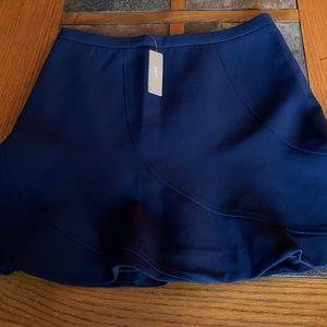 J Crew Navy Blue mini Skirt- Size 6